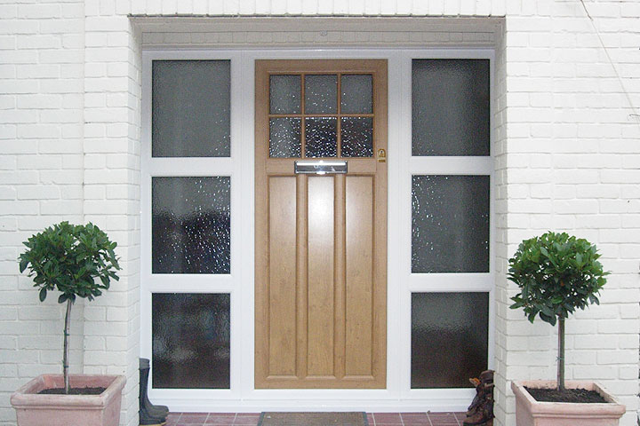 double glazed doors corby