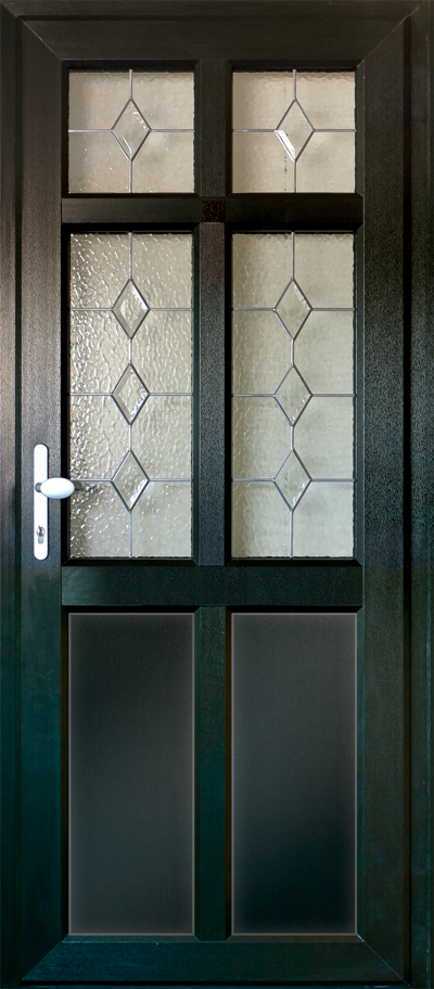 timber alternative single front door corby