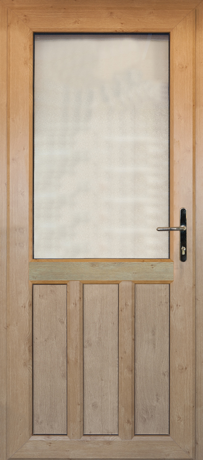 timber alternative single back door woking