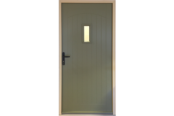 Timber Entrance Door Reading