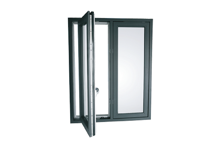 Flush Casement Aluminium Clad Timber Windows from DaC Double Glazing