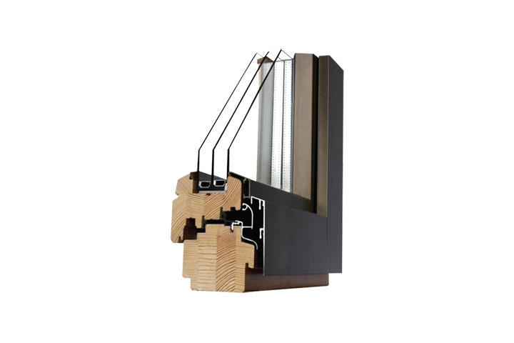 Aluminium Clad Tilt and Turn Timber Window from Choices Online