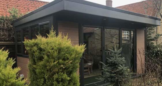 Authentic Timber Effect Garden Rooms Newbury