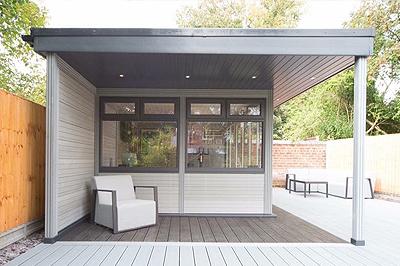 garden room for quiet retreat Newbury and Berkshire