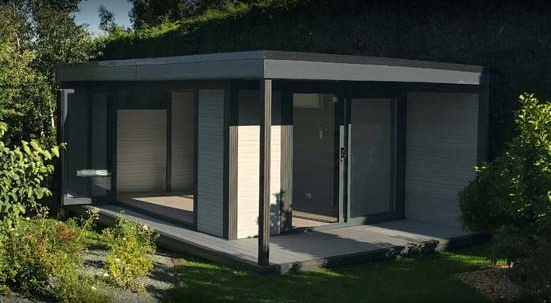 High performance Garden Buildings