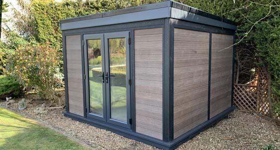 Low Maintenance Garden Rooms Newbury