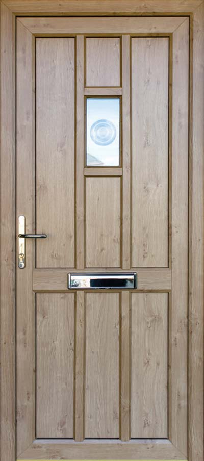 timber alternative single back door kings-lynn