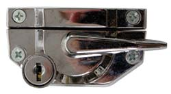 Chrome Finish Premium Cam Catch