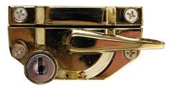 Gold Finish Premium Cam Catch