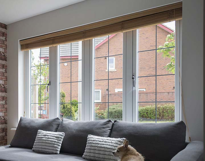 Timber Alternative Flush 75 Windows from A Rated UK