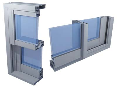 Horizontal and Vertical sliding windows