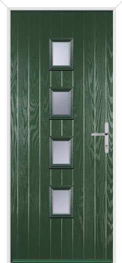 Green Wellow 4 Fire Door Design