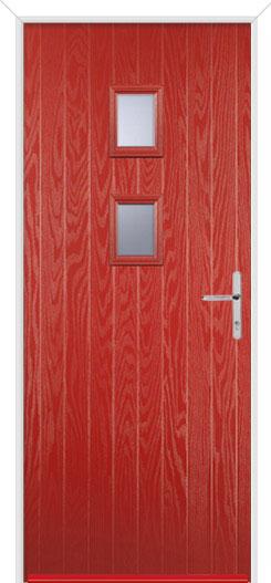 Red Wellow 2 Fire Door Design