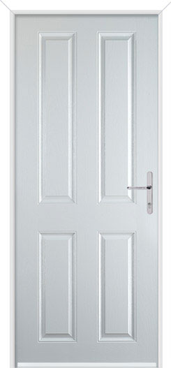 White Maple Solid Fire Door Design