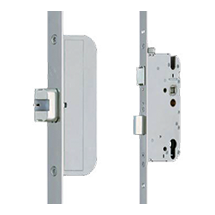 GU automatic secure fire lock with the option of 1 or two deadbolts.
