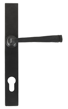black-avon-slimline-handle-fromAJ Windows and Doors