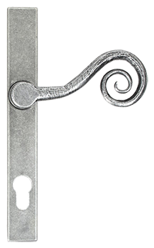 pewter-patina-monkeytail-handle-fromClarity Glass and Glazing Ltd