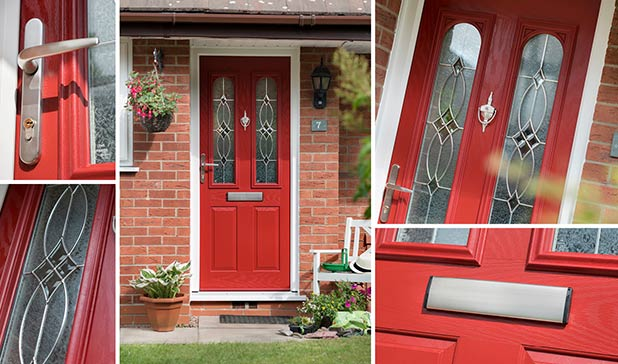 Stunning looking residor composite front door