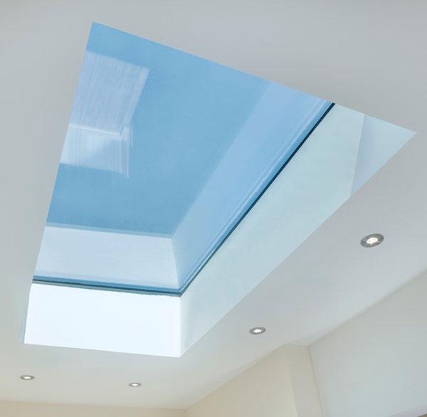 Internal shot of Opal Rooflight