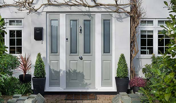 Gresat looking solidor front door