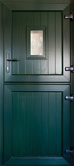 DP Windows supply and install Dark green stable doors in Witney, Oxon, Oxfordshire