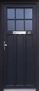 legacy door in black
